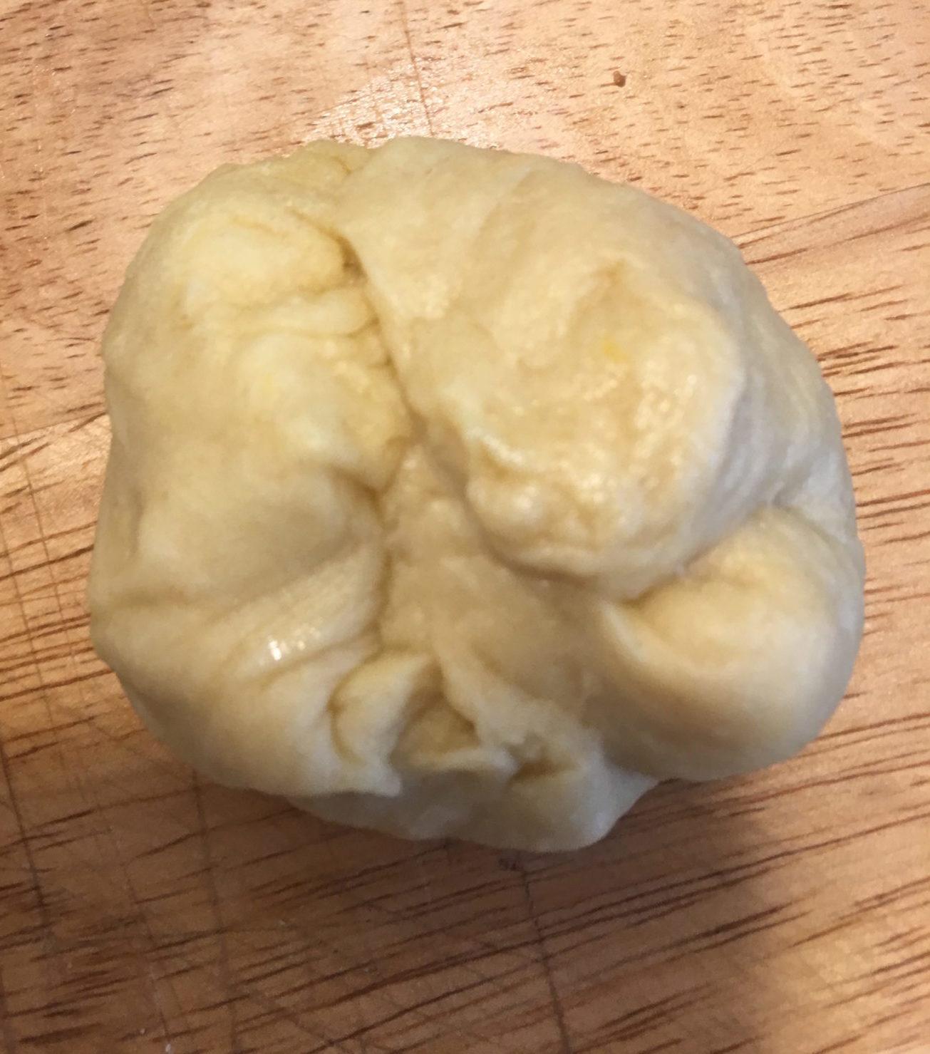 Almond Bun before cooking