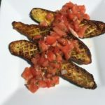 Roasted Zucchini with Sauce Vierge