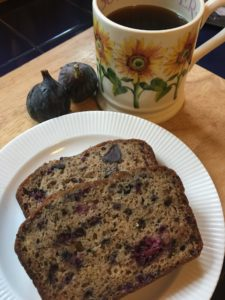 BLACKBERRY AND FIG LATE HARVEST QUICK BREAD