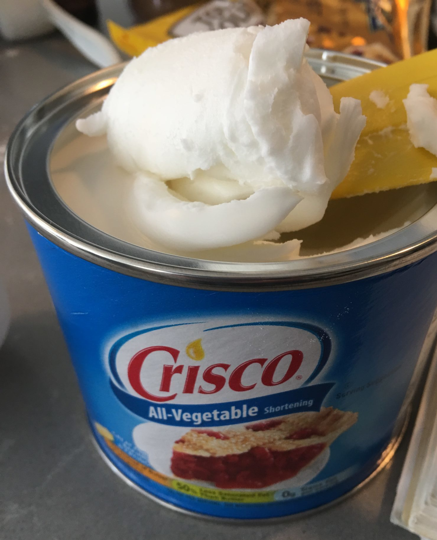 Crisco brand shortening
