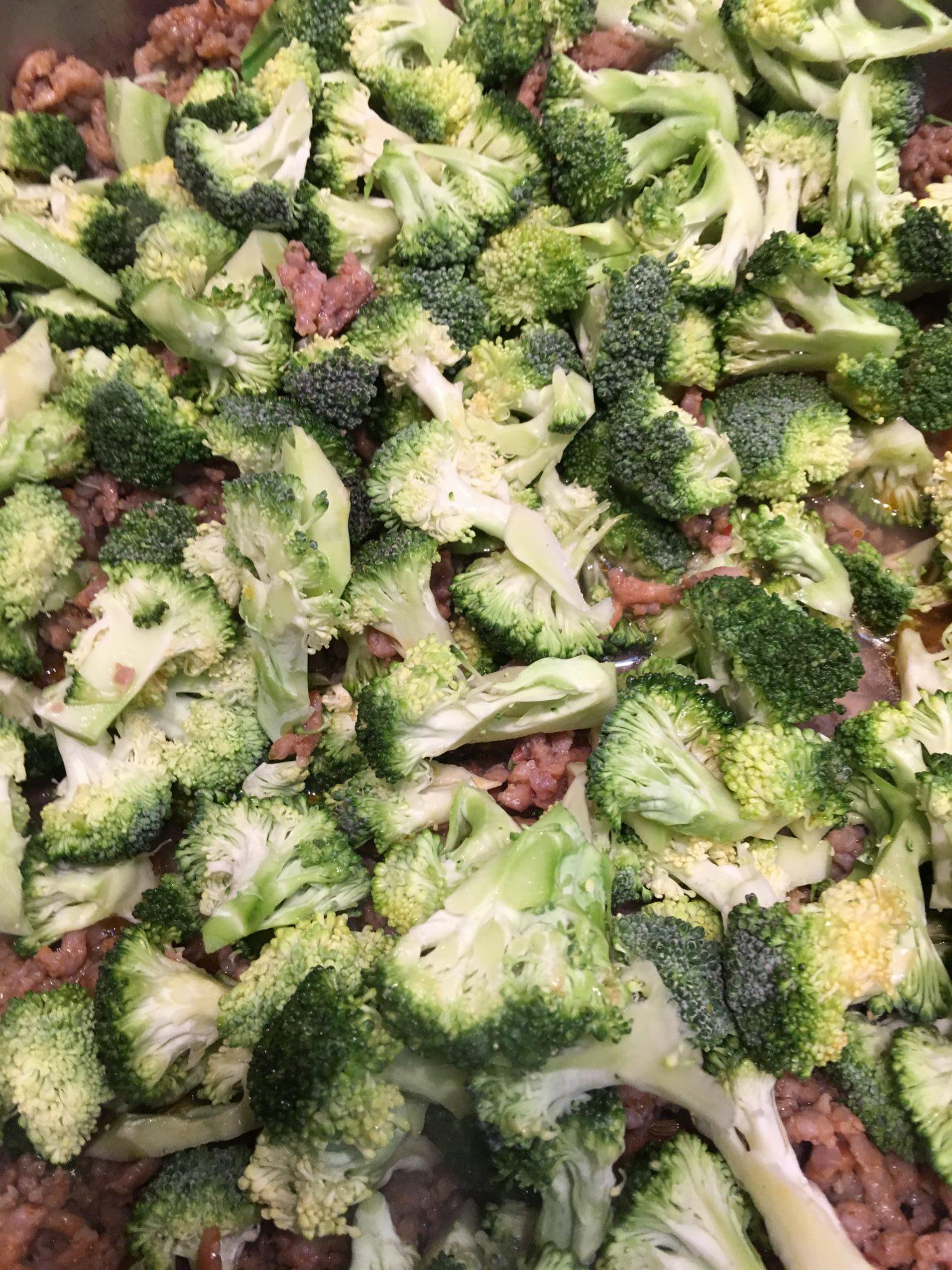 Broccoli and Sausage
