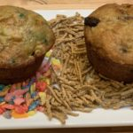 Fruity Pebble and Bran Muffins