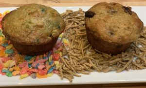 January Reflections: Cereal Muffins