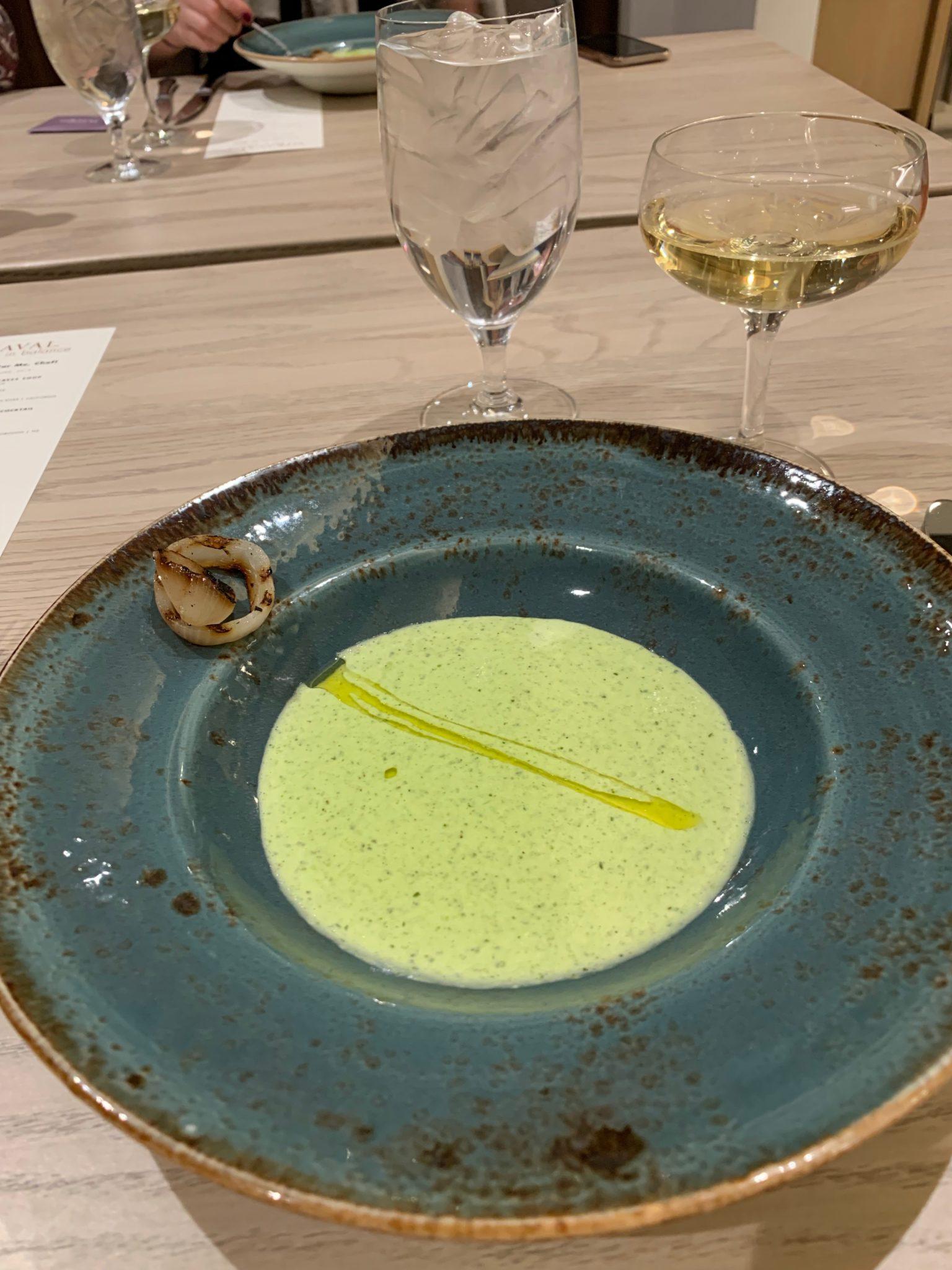 Watercress and Leek Soup