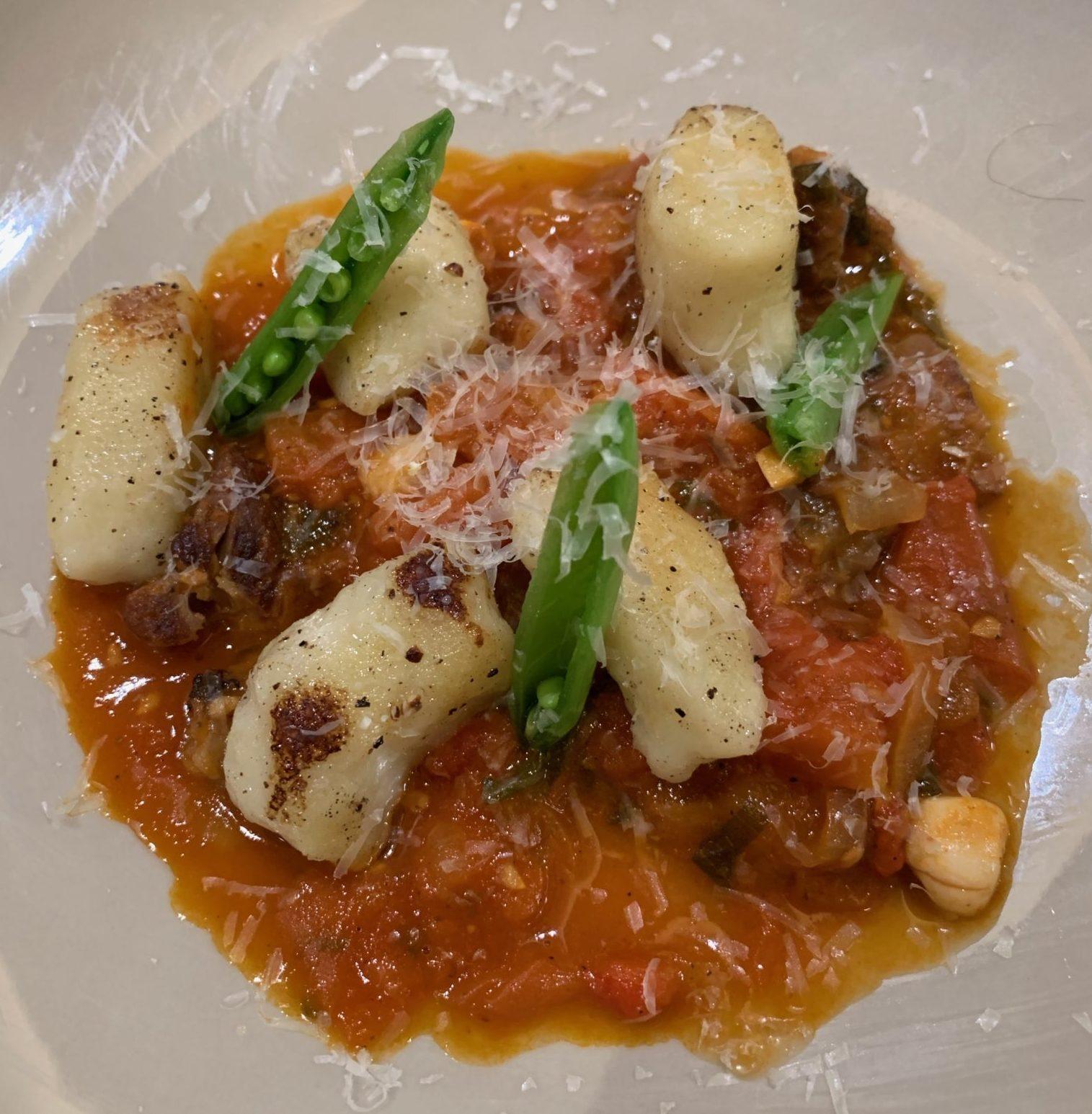 gnocchi and lamb ragu