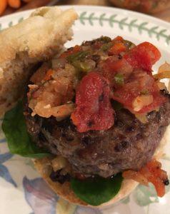 TOP CHEF DINNER: LAMB BURGER PROVENCAL
