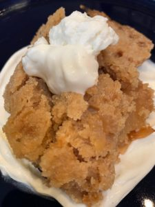 Apple Crisp and Yogurt