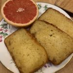 Pink Grapefruit and Ginger Quick Bread