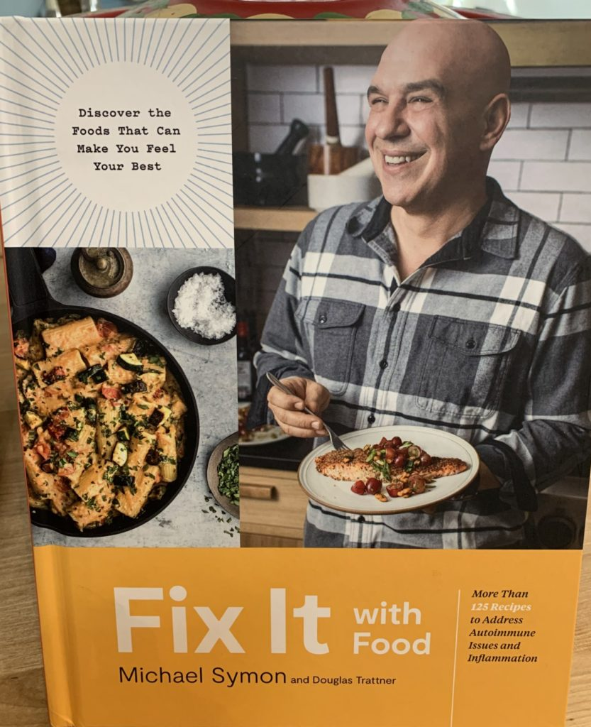 Copy of cover of Michael Symons Fix it with Food