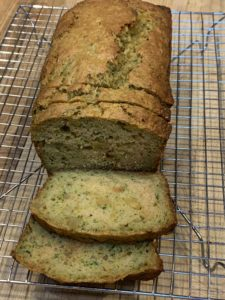 Zucchini Bread with Ginger and Lemon