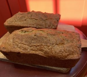 Nectarine and Mandarin Orange Quick Bread
