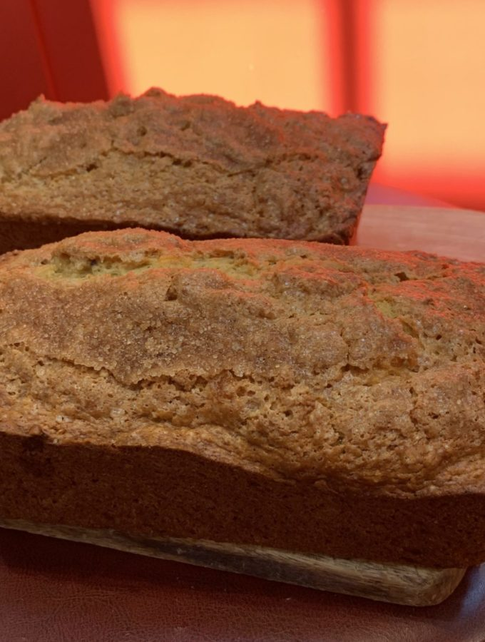 Nectarine and Mandarin Orange Quick Bread