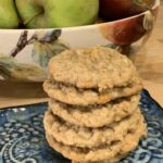 Spiced Oatmeal and Apple Cookies