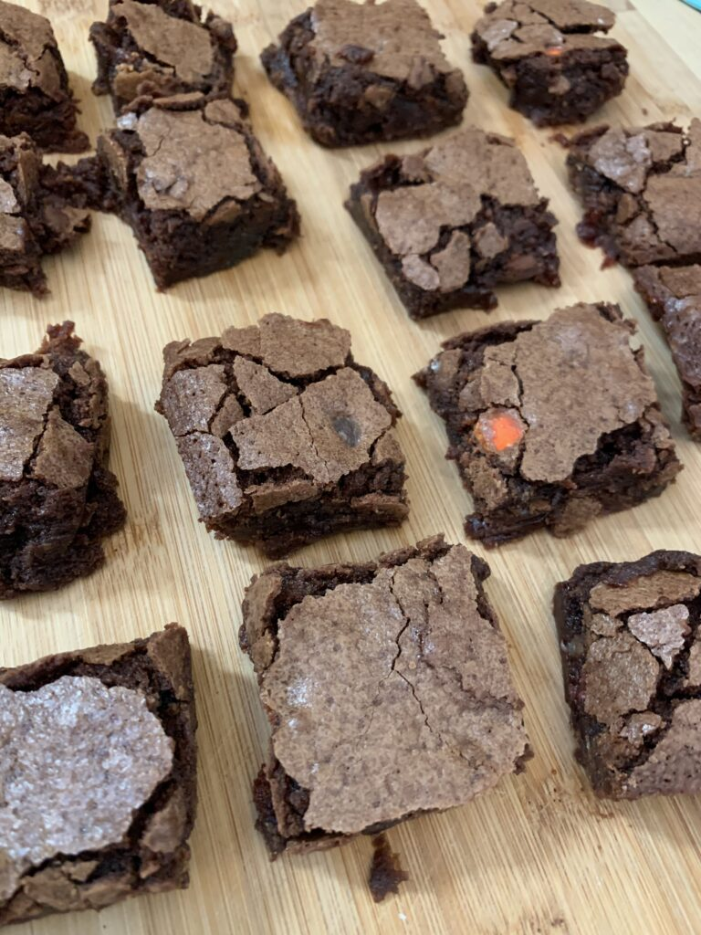 Box Mix Brownies from Scratch