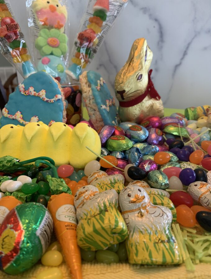 Easter Candy Display