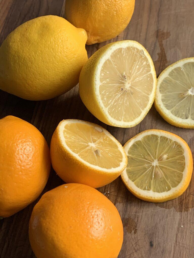 Meyer lemons vs regular lemons