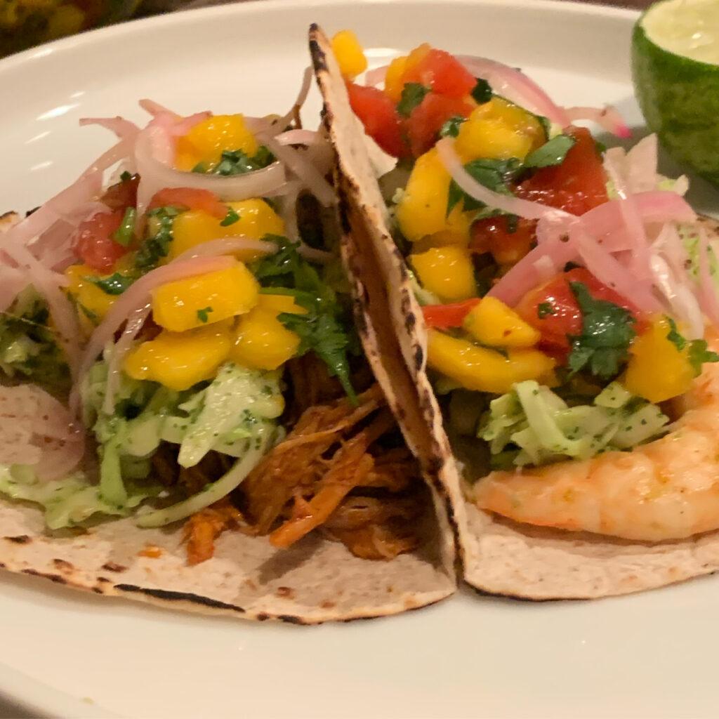 Tacos with Avocado Slaw