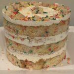 Classic Naked Birthday Cake