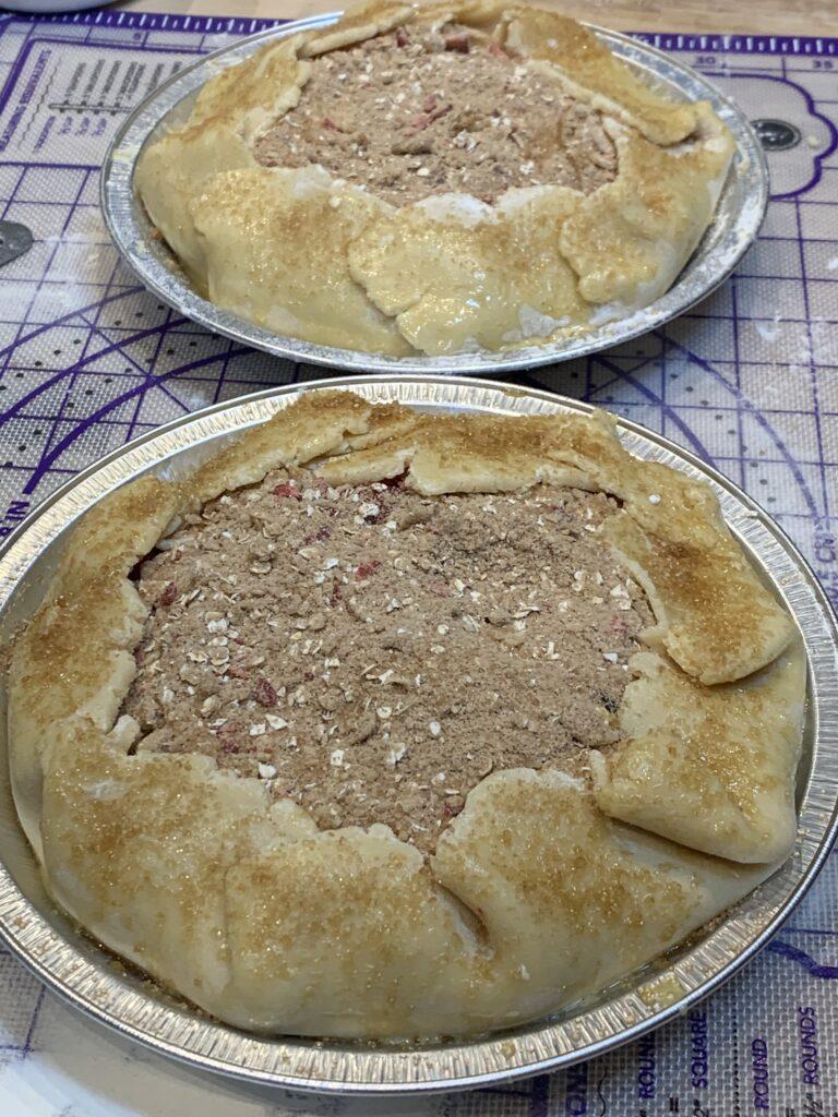 Breakfast Pie assembled