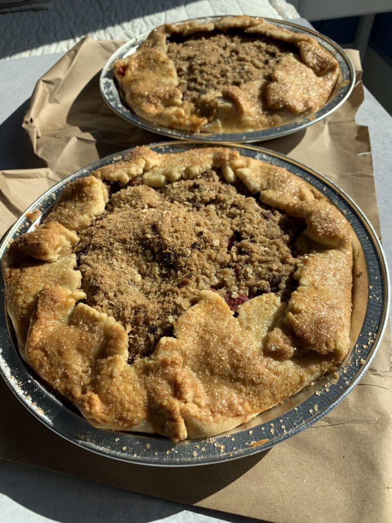 Breakfast Berry Pie