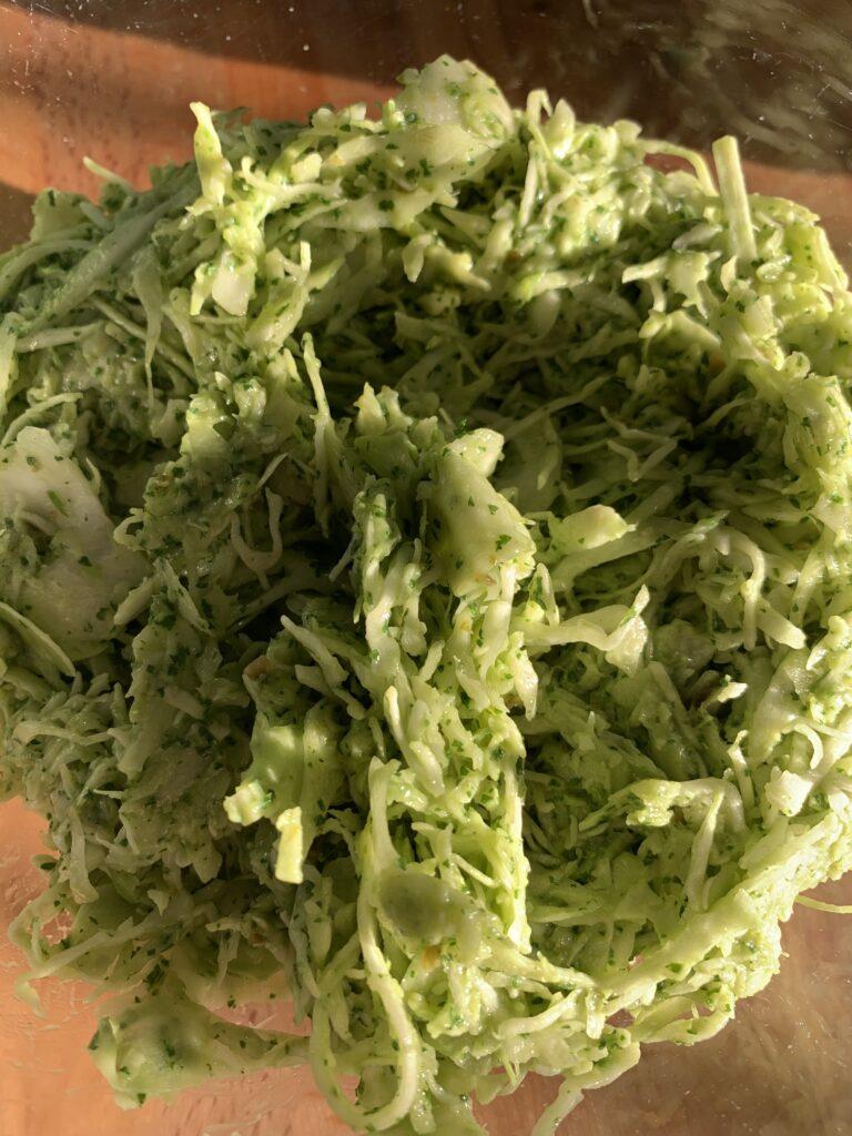 Cilnatro Lime Avocado Slaw