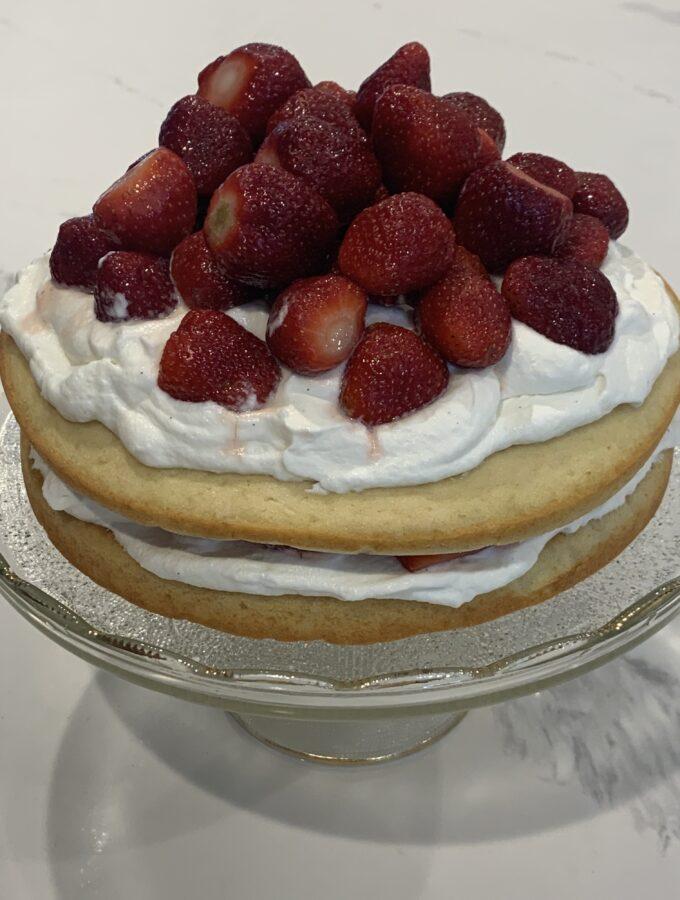 Strawberry Shortcake, 2 layer