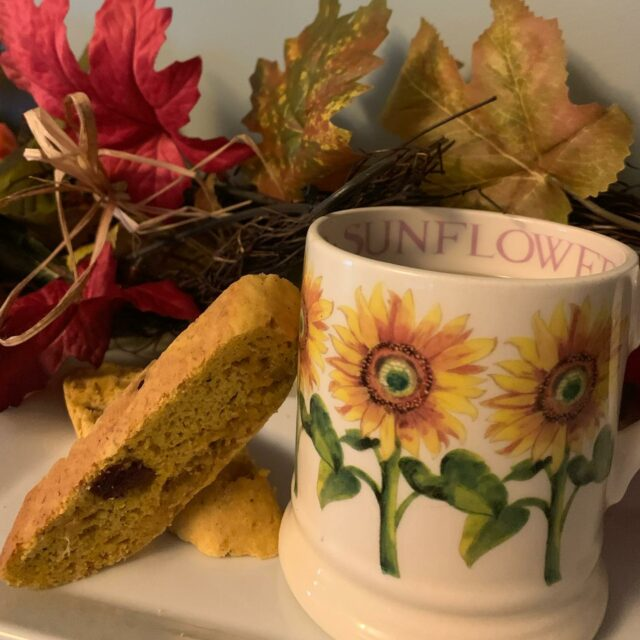 Pumpkin Biscotti speaks of autumn, leaves, and cool mornings. I think biscotti get a bad rap. They are more than just a dry cookie! Try these and see. Recipe link in bio #biscotticookies #pumpkinbiscotti #awomancooks  . . . . #pumpkinspiceeverything #coffeeandbiscotti #pumpkinginger #fallbaking #thebakefeed #bakebake #bakersgonnabake #ashevillebaker #ashevillefoodie